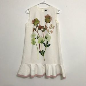 Victoria Beckham white floral dress from Target